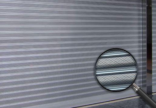 cierres lama microperforada 2020 - Persianas metálicas Barcelona