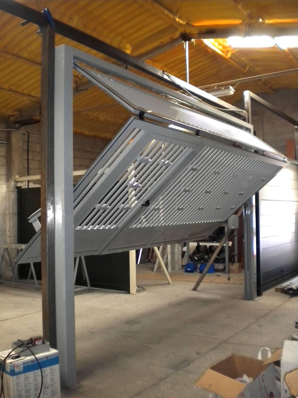 Puerta Basculante Aluminio5 - puertas de garaje basculantes automaticas