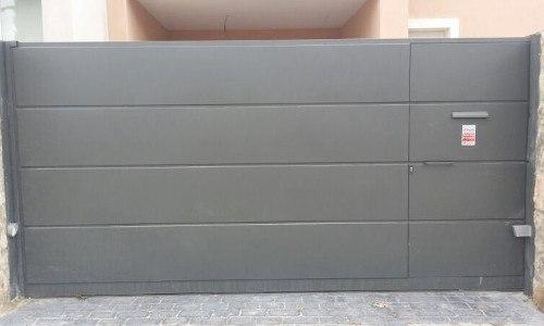 1_Puerta garaje corredera